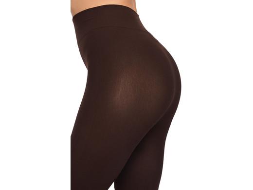 Scala Braun Shaping-Strumpfhose Blickdichte Biofir Brazilian Legwear misbela