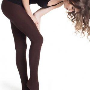 Shaping-Strumpfhose Blickdichte Biofir Schwarz Brazilian Legwear in braun misbela in wien online kaufen