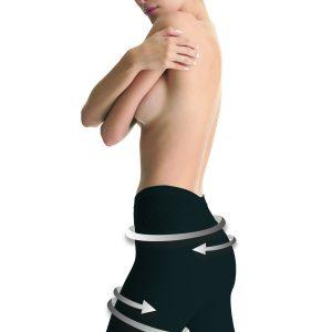 Shaping bermuda shorts in schwarz hinten BioPromise misbela brasilianische shapewear in wien online kaufen bio promise bio fir