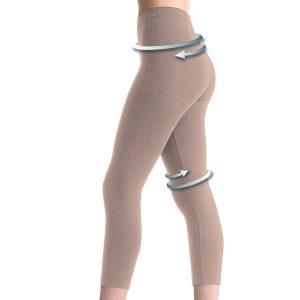 Slimming Legging BioPromise Scala Nude Abnehmhose beige misbela bio promise shape control