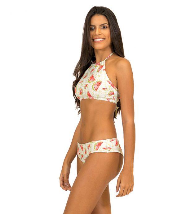 Cropped Brazilian Bikini Melonen Brazilian Bikini Cropped Melonen misbela brazilian bikini shop mikro bikini ripple bikini bademode damen seitlich vorne