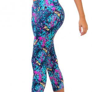 Sport Leggings 3/4 Sport leggings Capri Sporty misbela Brazilian Bikini Shop brasilianische sportbekleidung für damen in wien online kaufen vorne seitlich
