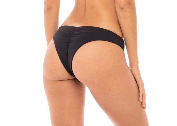 brazilian Bikinihose Luisa in schwarz Misbela Brazilian Bikini shop Micro bikini Bademode damen Brasilien bikini brasilianische bademode in wien online kaufen hinten lybethras swimwear hinten