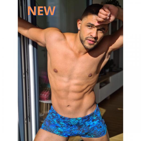 Boxer Badehose für Herren Badehose men beachwear mit Innenkordel misbela brazilian bikini shop new