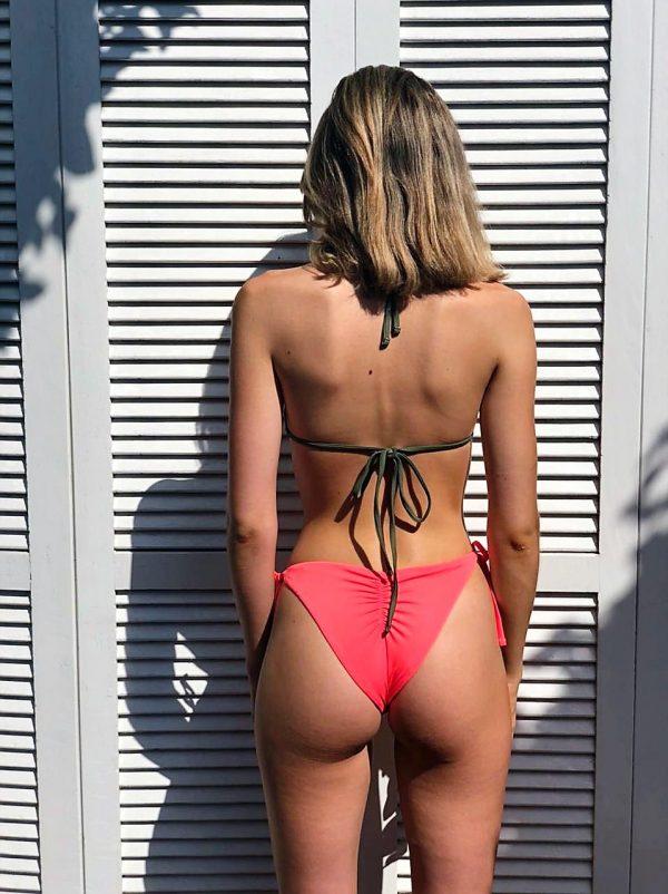 Triangel Bikini aus Brasilien Brazilian Triangel Bikini Mara trikolore ripple bikini hose lybethras bademode damen misbela brazilian bikini shop fenster hinten